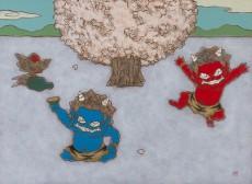 瀧下和之 桜の木の下で 8号